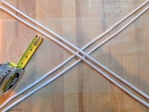 clay napkin ring ropes