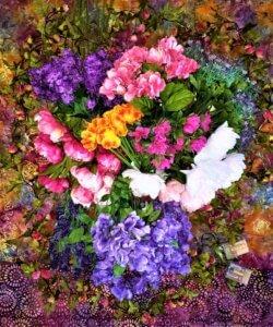 fairy chandelier flowers