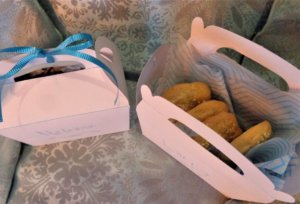 greek cookie favor boxes