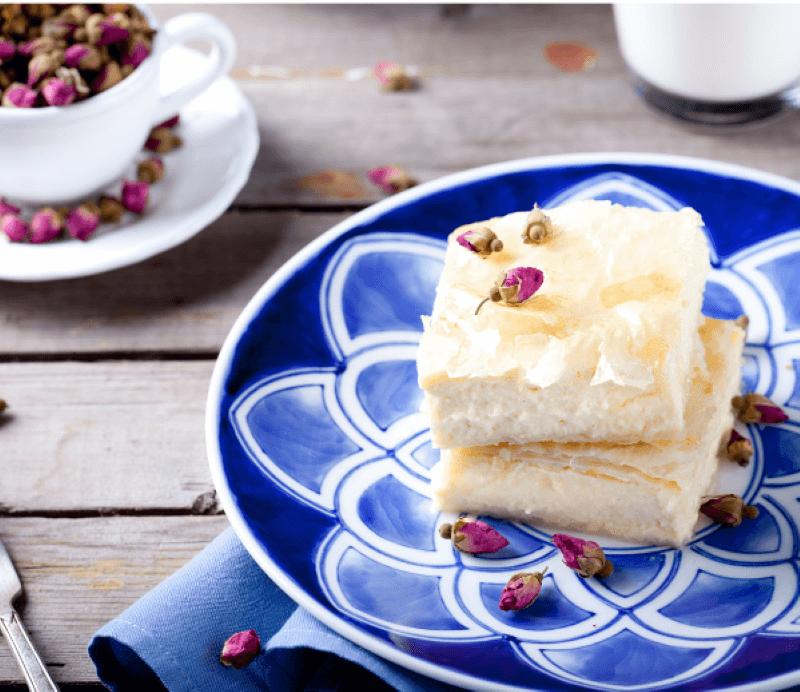 greek custard pie