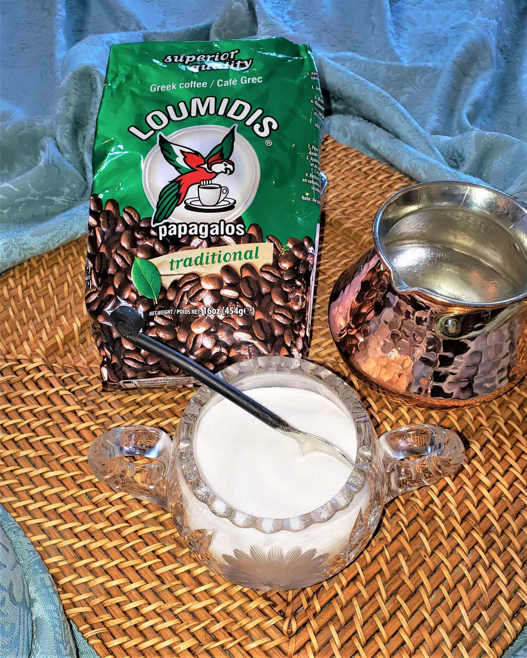 ingredients for turkish coffee
