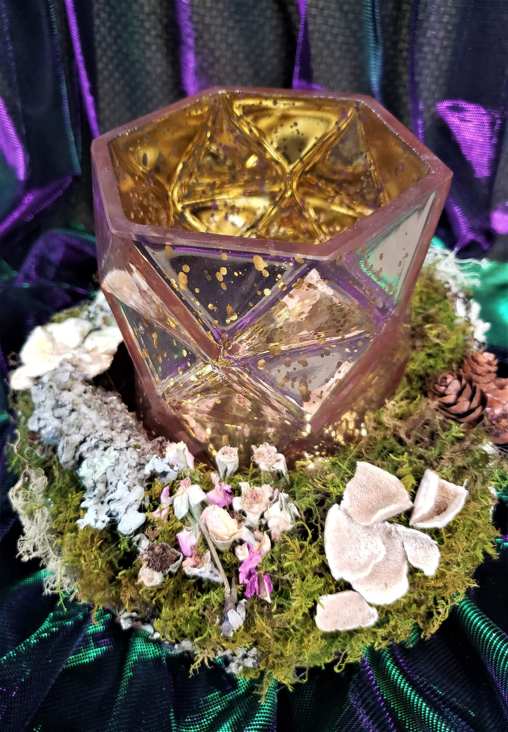 fairies in the forest twilight soiree centerpieces