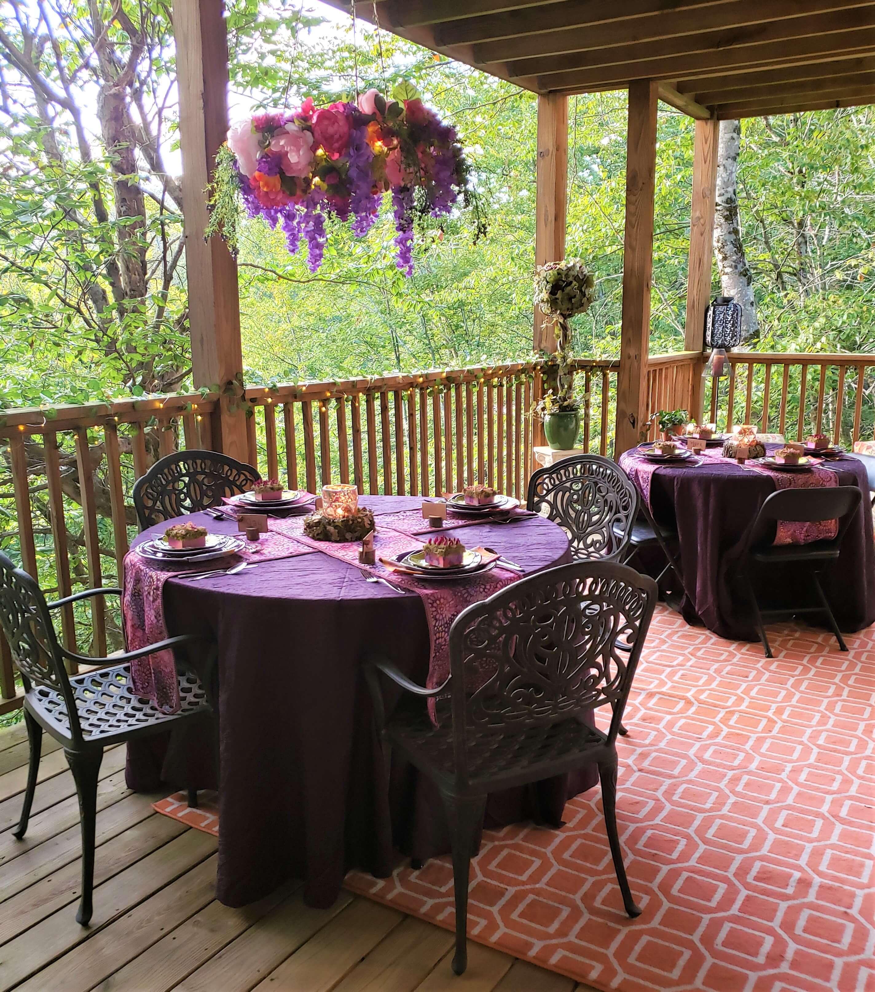 fairy-party-venue-setup
