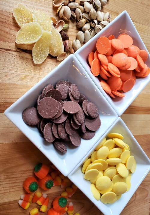 fall candy bark ingredients