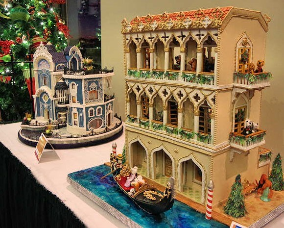 omni grove park inn gingerbread house competition