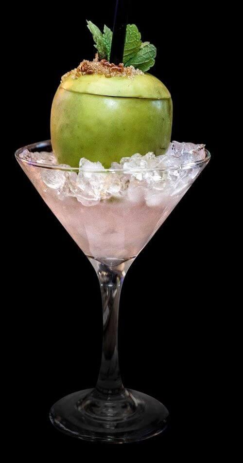 green apple infused vodkas