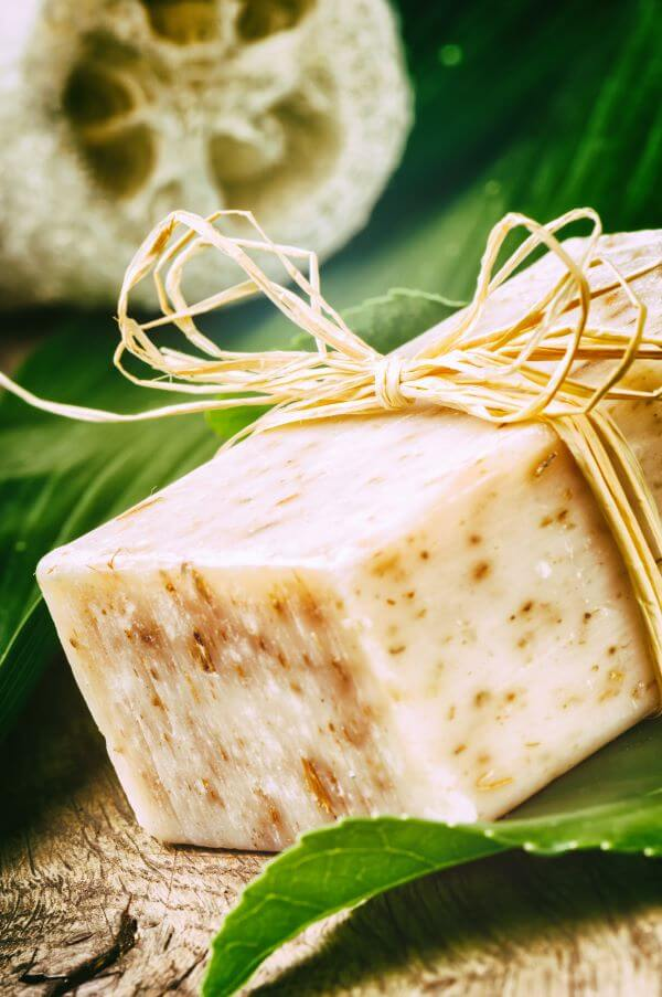 melt and pour goat milk soap