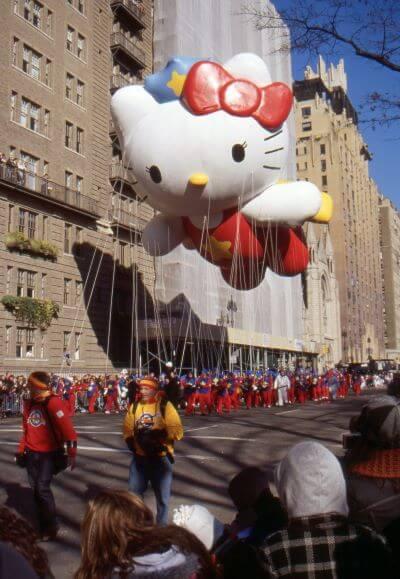 hello kitty macy parade balloon