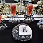 champagne jello posh shots in flute glasses