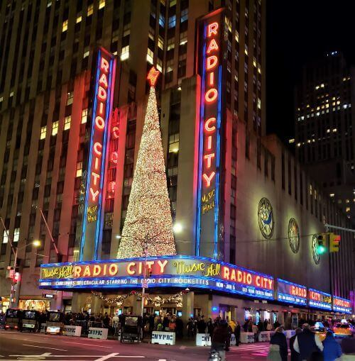New York City radio city music hall
