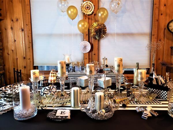 over the top New Years Eve ideas