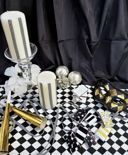 new years eve party candles