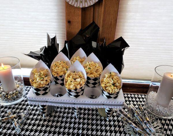 new years eve truffled popcorn