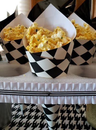 truffled popcorn for new years eve
