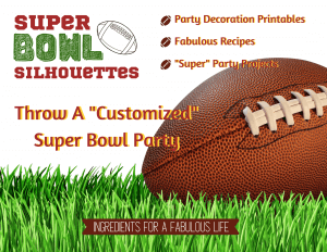 customized super bowl party