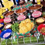 "super ""chili"" bowl bar super bowl party ideas"