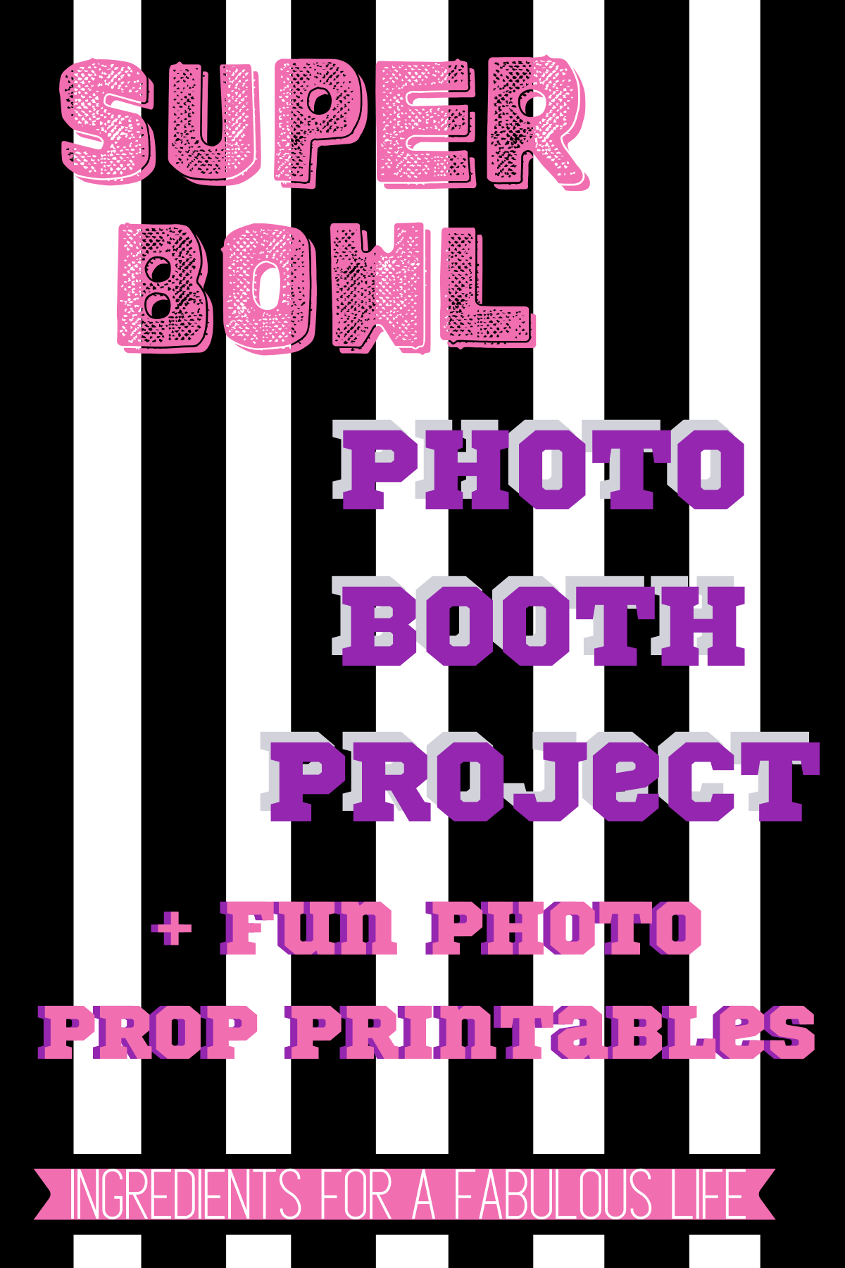 super bowl referee photo booth project