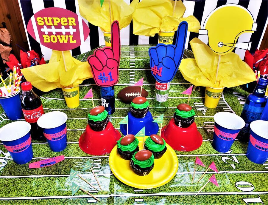 printable super bowl party ideas