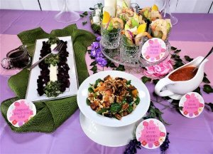 pamper me pretty party recipes