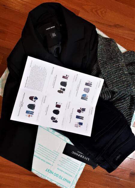 working with a wardrobe stylist