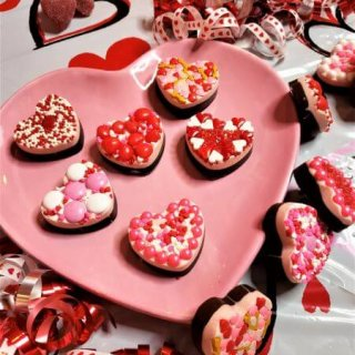 Valentine's Day Fancy Candy Hearts