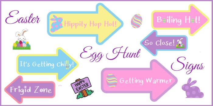 easter egg hunt signs pdf