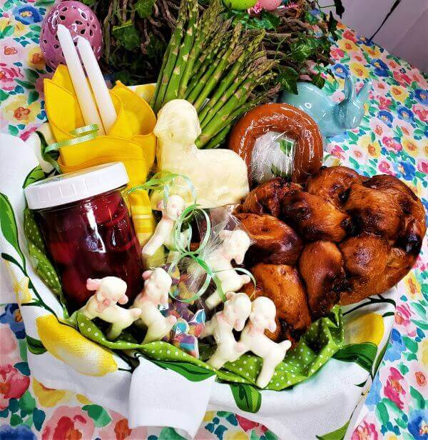 celebrating a traditional Polish Easter