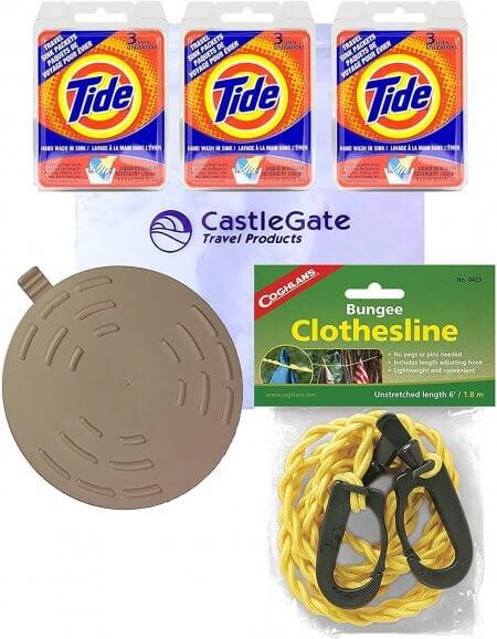 premium travel laundry kit