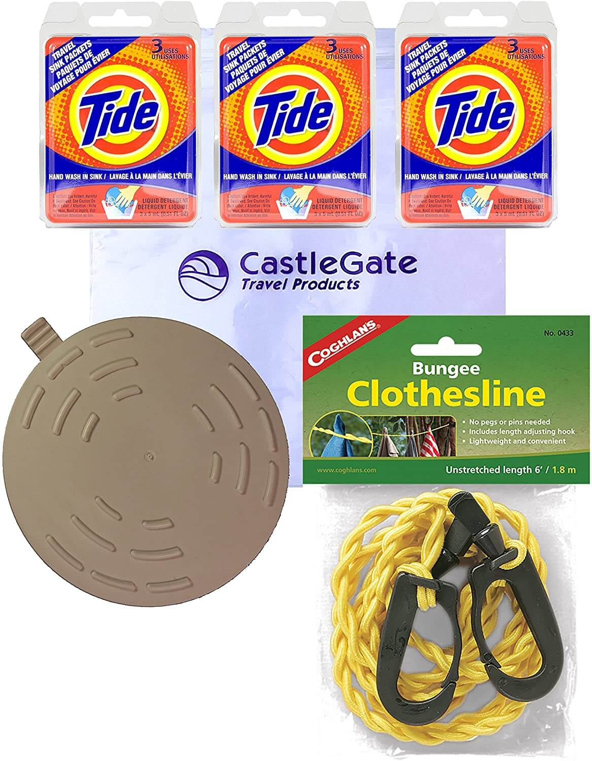 premium travel laundry kit