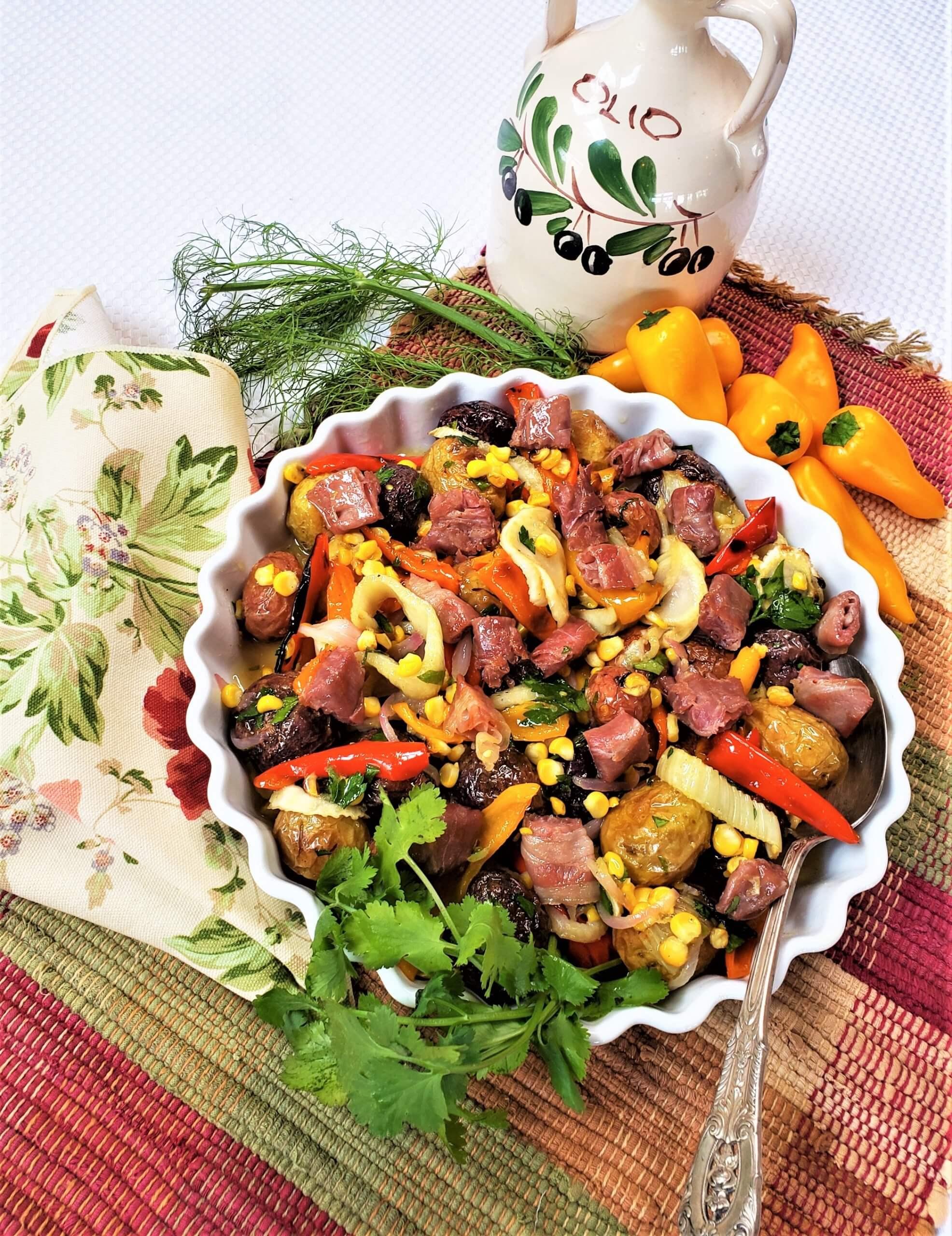 gourmet German potato salad