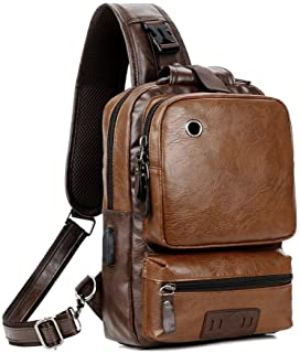 usb charger equipped sling backpack father's day gift ideas