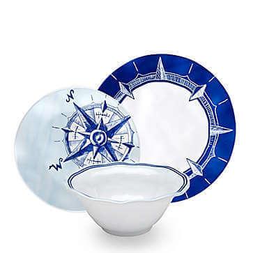 summer fab finds nautical plate set