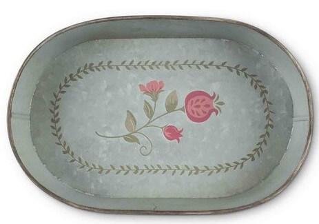pomegranate metal tray