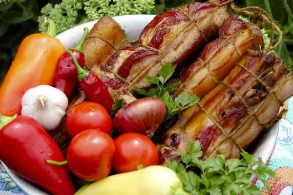 bacon smoked food at home
