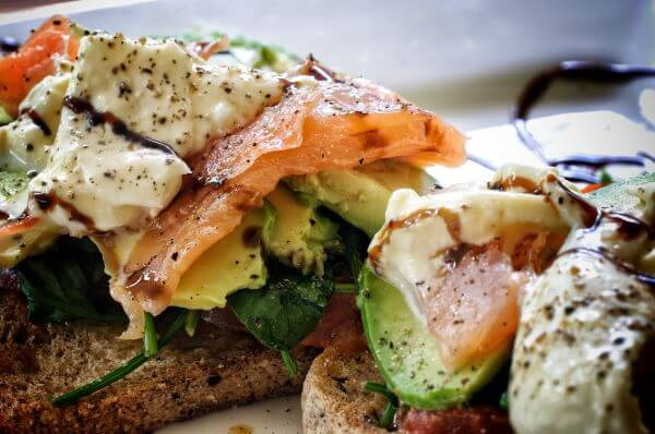 smoked salmon and horseradish creme fraiche toasts smoking food at home recipes