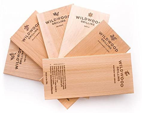 wood plank for smoking food at home