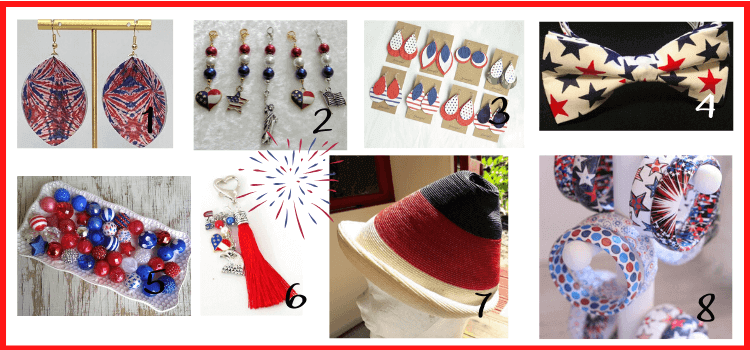vintage 4th of july accessories