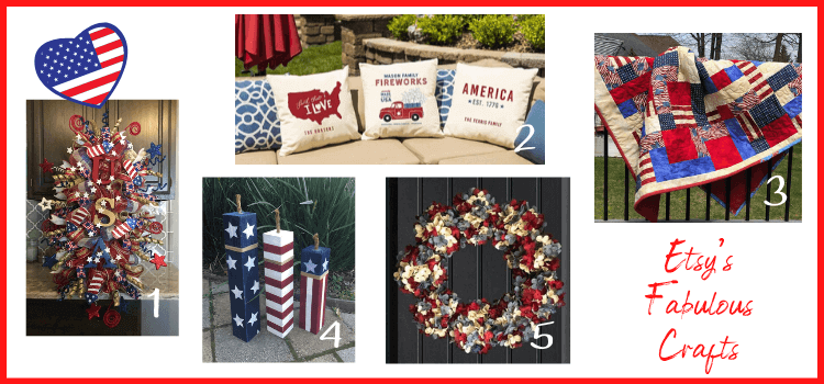 fab finds from etsy for 4th of july