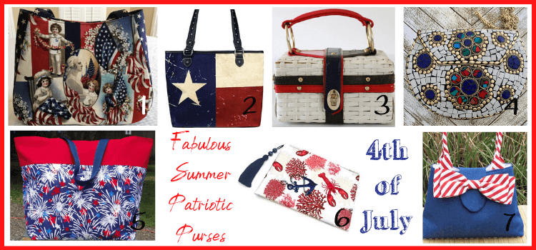 4th of july finds on etsy purses