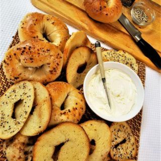 house-made cream cheese and bagel chips