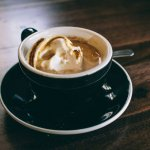 mocha hazelnut specialty coffee
