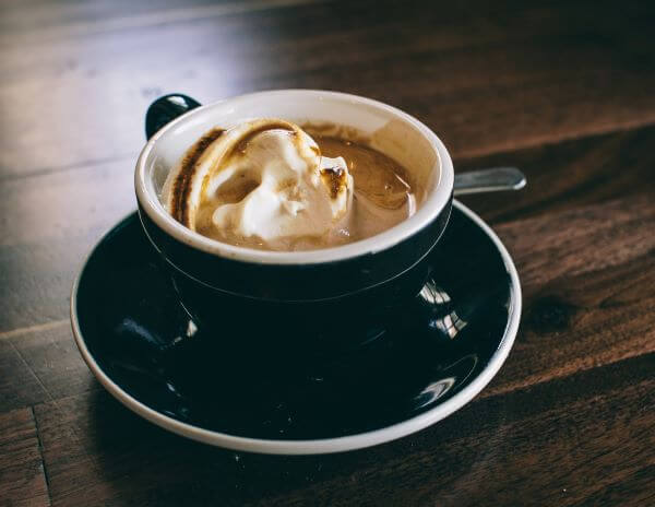 mocha hazelnut specialty coffee