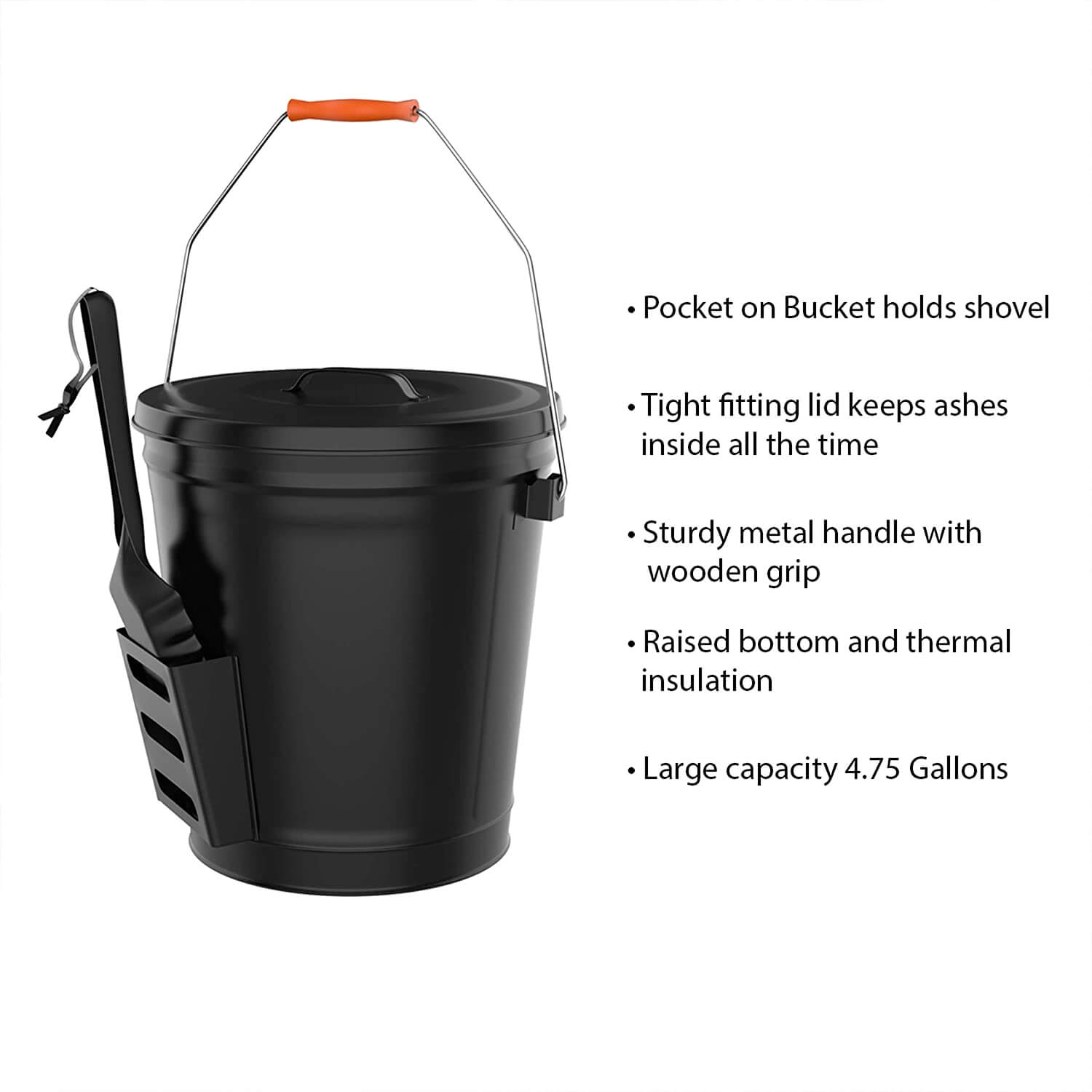 ash bucket for fire pit