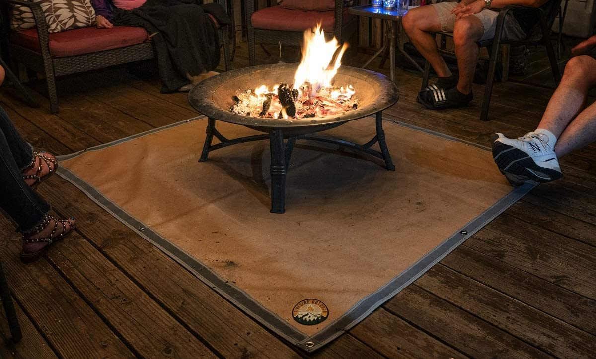 fire pit buying guide accessory ember mat