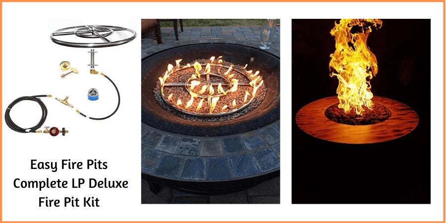 lp fire pit kit for DIY project