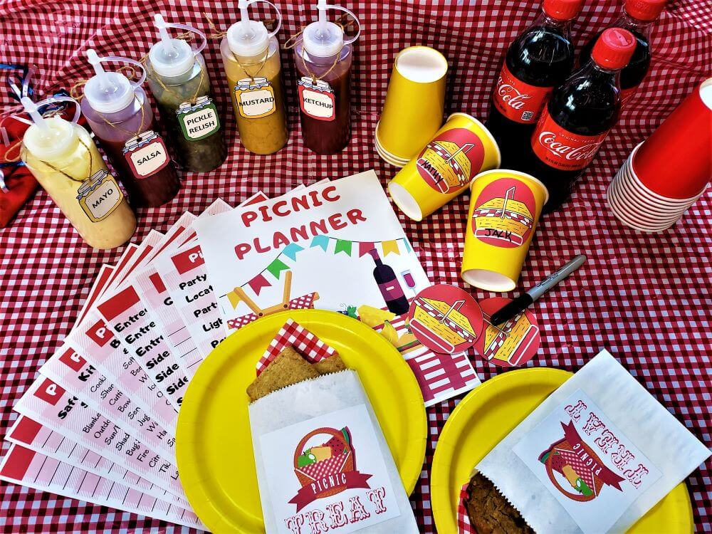 perfect picnic party printables