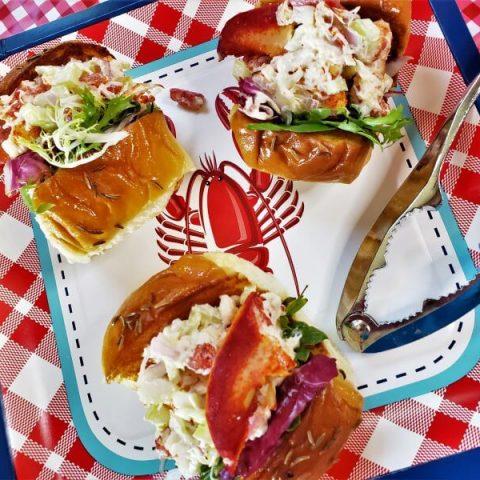 lobster roll sliders