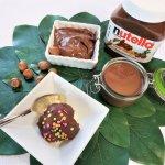 chocolate hazelnut crack topping