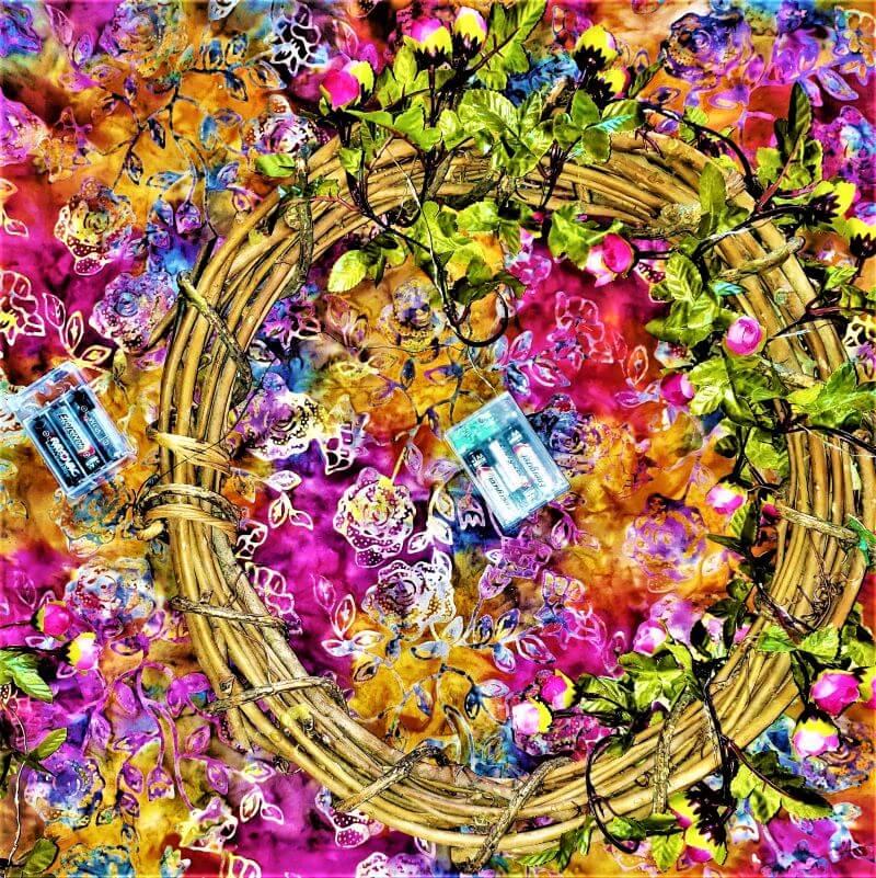fairy lite blossom chandelier