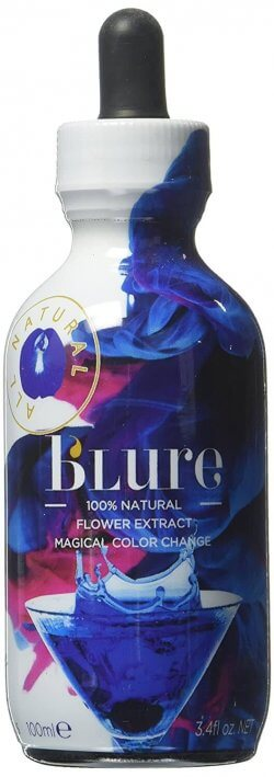 butterfly pea extract bottle for fairies in the forest signature cocktails